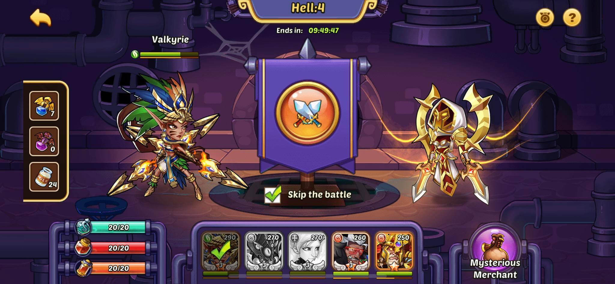 Idle Heroes Aspen Dungeon Guide - Detailed Builds and Matchups