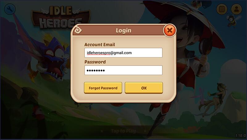 login ih account